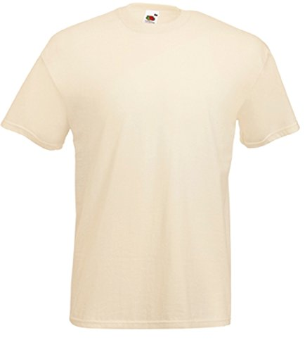Fruit of the Loom Valueweight T-Shirt Natur M