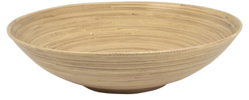 Ambiance Nature 506245 - Bol, diámetro de 45 cm, bambú trenzado, color natural