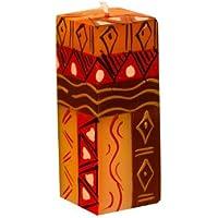 Fair Trade Odyssee Kerzenpr/äsent Stabkerzen Geschenk 2er Set afrikanische Kerzen