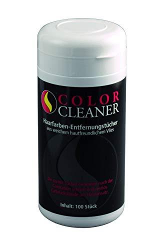 Coolike Color Cleaner Haarfarben-Entfernungstücher aus Vlies 11403, nachfüllbare Spenderdose mit 100 Tüchern