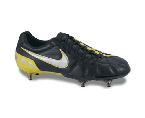 Nike Total 90 Laser III Chaussure De Football Pour Terrain Moux Jaune