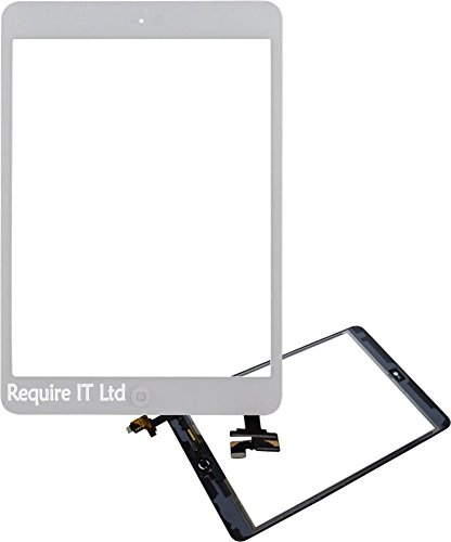 REQIT New Weiß Apple iPad Mini 1Touch Digitizer Glas für 1. Gen. 16GB 32GB 64GB (Apple Ipad 16 Gb 1. Gen)
