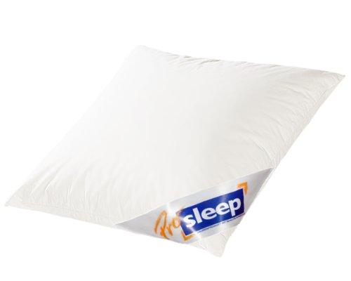 Hanskruchen Pro Sleep Komfort Kopfkissen, 100{e2beaf978f56720b61f60d1de582ebb13a7554eb6357263910b34b747e55223d} Federchen, 80 x 80 cm