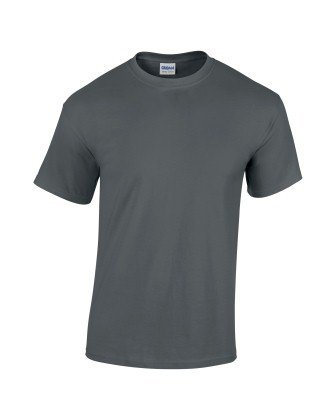 Gildan 5000 Heavy Cotton Adults T-Shirt Charcoal 2XL