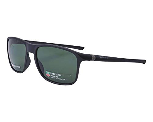 Preisvergleich Produktbild TAG Heuer Sonnenbrillen (TH-6042 301) matt schwarz - brau-grün polarisierte