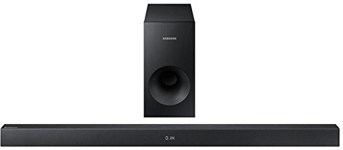 Samsung HW-K335/ZG Soundbar (130 W, Flat, Bluetooth) schwarz (Samsung Wireless Sound Bar Für Tv)