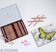 STOCKMAR Buntstifte sechseckig, 18+1 Stifte sortiert