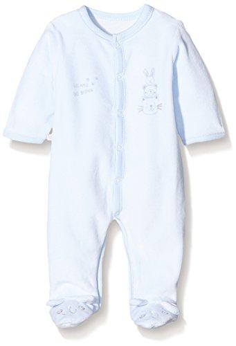 43e02742170fd Absorba Boutique Premiers Jours - Pyjama - Imprimé animal - Mixte bébé -  Bleu (Ciel