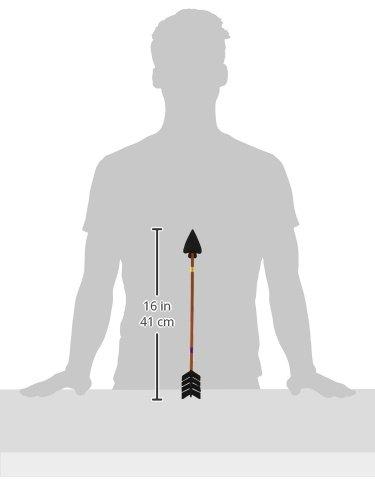 Imagen 4 de Smiffys Flecha atravesando la cabeza, con punta de caucho