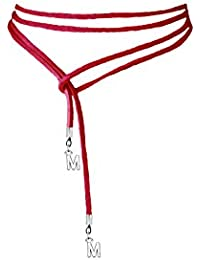 Ladies 100CM Tie Up Wrap Around Boho Long Thin Suede Lace Angel Wing Heart or Silver Key Charm Choker Necklace btKunu