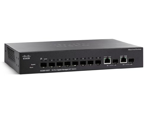 Cisco SG300-10SFP-K9-EU - Switch Red 8 Puertos SFP