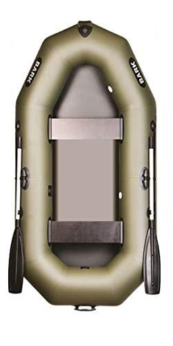 BARK B-240 B-240C B-240CN 2.4 m 240 cm Schlauchboot für 2 Person Paddelboot Ruderboot Motorboot Angelboot Heckspiegel Lattenboden Professionelle Ausführung (B-240 PVC-Boden)