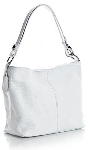 Big Handbag Shop, Borsa a spalla donna One Bianco (bianco)