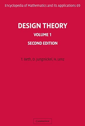 Design Theory: Volume 1 (Encyclopedia of Mathematics and its Applications)