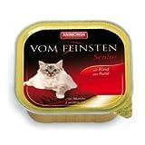 Animonda vom Feinsten Senior mit Rind 100 g , Futter, Tierfutter, Nassfutter für Katzen