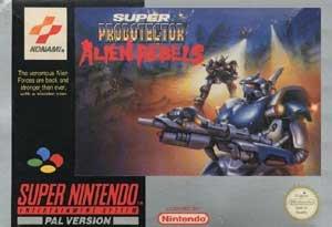 Super Probotector Alien Rebels SNES