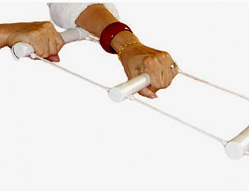 Strickleiter zum Aufsetzen in Betten