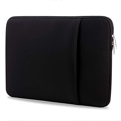 Festnight Laptop-Hülle Multifunktions-Notebook Tragbarer Reißverschluss Soft Sleeve Tasche 11