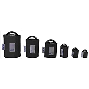 MDF® Latexfreie Blutdruckmanschette – Oberschenkel – Zweischlauch(MDF2090470)