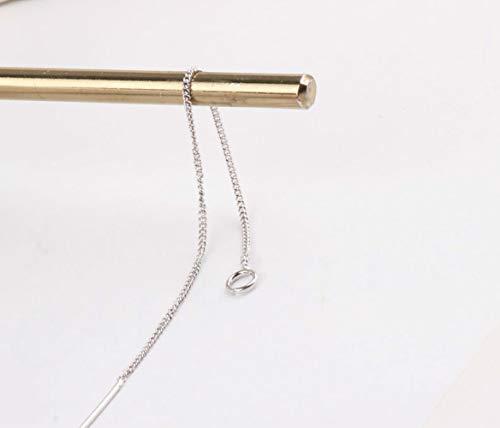 Ogquaton Kupfer DIY Ohrringe Material feine Kette sehr einfach und elegant Temperament
