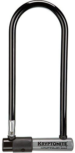Kryptonite Bügelschloss Kryptolok 2 LS mit Flex Frame Halter, 3500332