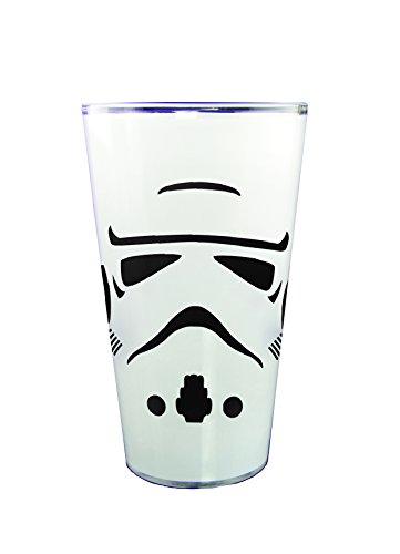 Star Wars Storm Trooper Trinkglas, 1/2 l