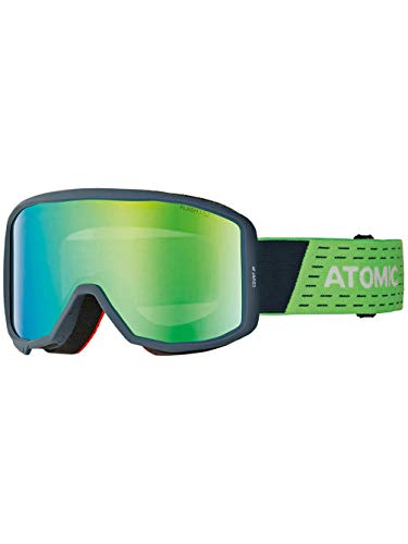 ATOMIC Kinder Count JR Cylindrical Goggle Blue/Green One Size