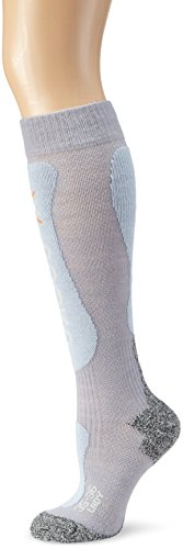 X-Socks Funktionssocken Ski Comfort Supersoft Lady, Pearl/Ice Blue, 41/42, X020274 (Bekleidung Hand Herren Recht)