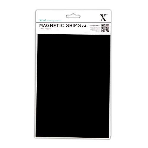 Xcut Magnetplatte DIN A5, selbstklebend, 4 Stück