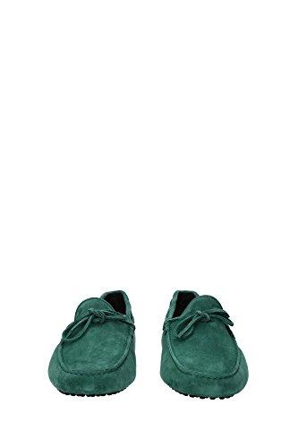 XXM0GW05470SUWT003 Tod's Mocassins Homme Chamois Vert Vert