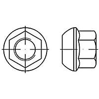 M18 x 1,5 12 St/ück Kugelbundmutter DIN 74361-8 A Radmutter verzinkt