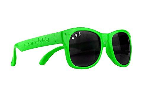 Roshambo Baby-Sonnenbrille, 100% UVA/UVB-Schutz, unzerbrechlich, 0-2 Jahre, erhältlich in vielen Farben