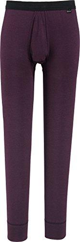 Armee Lange Unterhose (Schiesser Unterhose, lang Single-Jersey violett Größe 5)