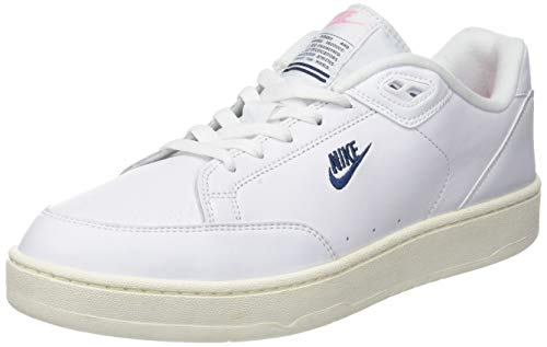 get cheap b0fe1 b7867 Nike Grandstand II, Chaussures de Fitness Homme, Multicolore  (White Navy Sail