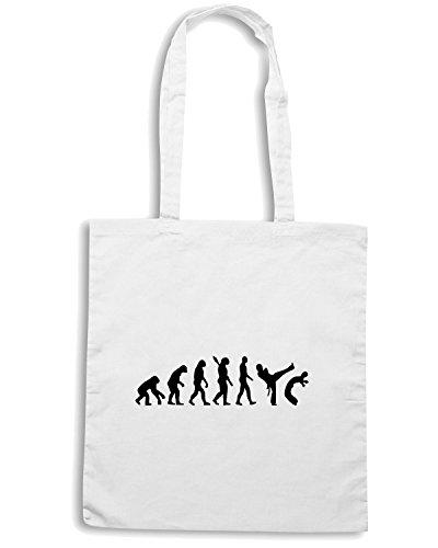 T-Shirtshock - Borsa Shopping OLDENG00156 KENG0230 Bianco
