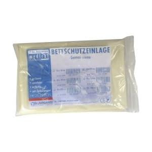 BETTSCHUTZEINLAGE Gummi 90×120 cm creme 1 St