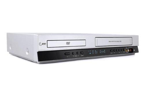 LG V 280 DVD-Player / VHS Hi-Fi-Videorekorder Kombination (DivX-Zertifiziert) Silber