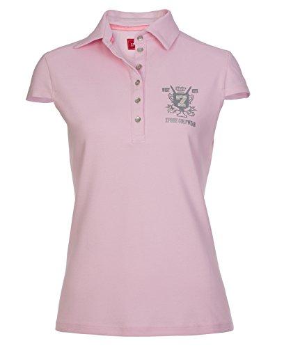 XFORE performance polo de golf pour femme New Cross avec logo Strasss sur la partie avant et...