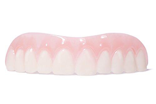 NEU - Veneer für Oberkiefer - Sichtlich mehr Lebenfreude - Natürliches Weiß - INNOVATIVE Alternative zu Whitening, Bleaching & Dritten Zähnen wie Prothesen, Kronen, Brücken - Ohne Zahnarzt - NEUENTWICKLUNG zu teuren Zahnersatz - JETZT zur Gebiss Verschönerung