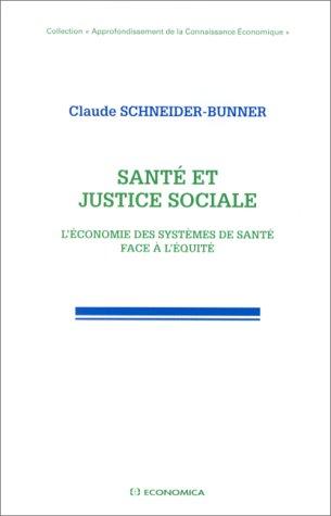 Santé et justice sociale