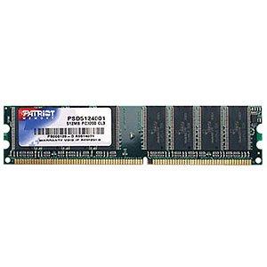 PATRIOT 512MB DDR 400MHz Desktop SL - 512 Mb Ddr Desktop