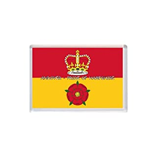 Andover - Pride of Hampshire County Flag - Jumbo Fridge Magnet