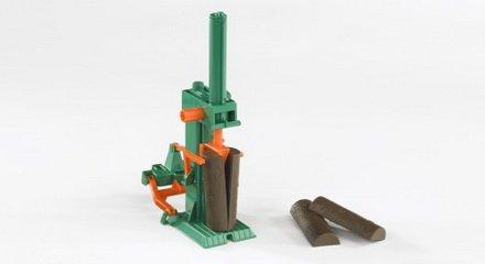Preisvergleich Produktbild Bruder Zubehör: Posch Holzspalter mit 4xHolz, 1 Set