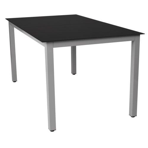 Miadomodo-Table-de-jardin-en-aluminium-plateau-en-verre-noir-TAILLE-ET-COLORIS-AU-CHOIX