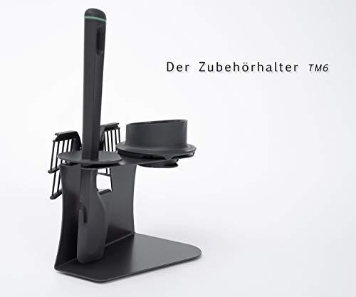 Zubehör Halter für Thermomix® TM6 Anthrazit-grau von Leckerhelfer