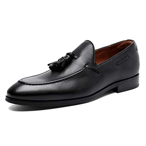 RSHENG Herren Casual Müßiggänger Einfache Mode Fransen Schuhe Kleid Business Herren Arbeitsschuhe -