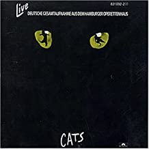 Cats - Live (Deutsche Gesamtaufnahme aus dem Hamburger Operettenhaus)