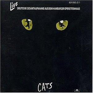Various: Cats - Live (Deutsche Gesamtaufnahme aus dem Hamburger Operettenhaus) (Audio CD)