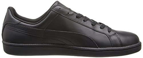 Puma Smash Leder Classic Sneaker Black-Dark Shadow