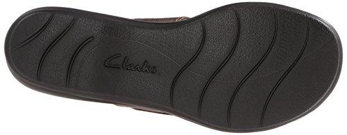 Clarks Leisa Grove Diapositive Sandal Pewter